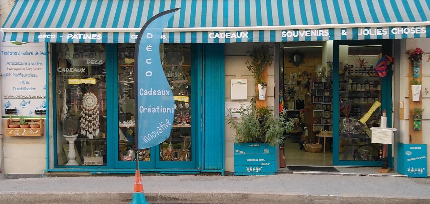 magasin boutique deco cadeaux bijoux vaisselle meubles innovative ganges